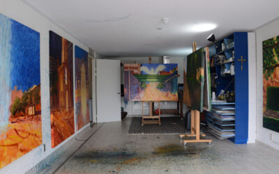 STUDIO EXHIBITION, presenting the new series 'Silence and The City'