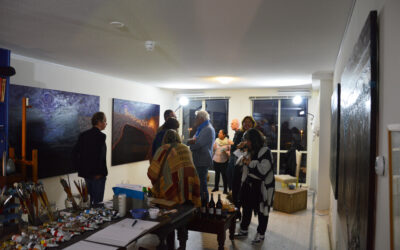 ART AND WINE OPENING EXHIBITION, New Studio, The Hague, The Netherlands