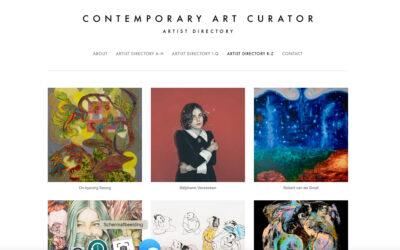 NEW COLLABORATION, Contemporary Art Curator Magazine