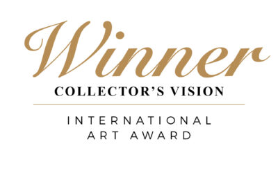 COLLECTOR'S VISION INTERNATIONAL ART AWARD, with interview, by Contemporary Art Curator Magazine