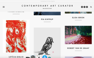 ONLINE EXHIBITION 'New Horizons', by Contemporary Art Curator Magazine