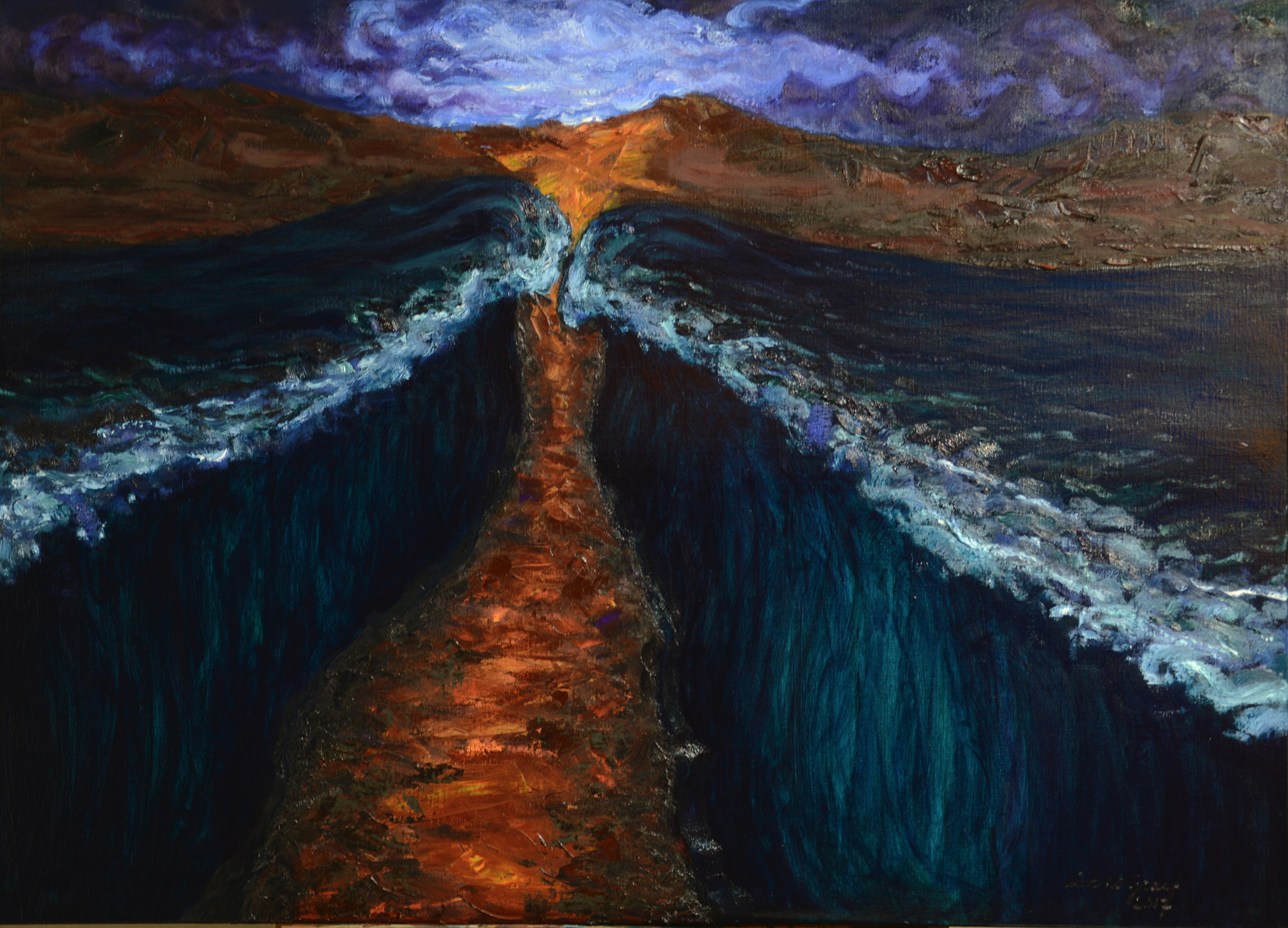 Moses Walking through the Red Sea_2 1