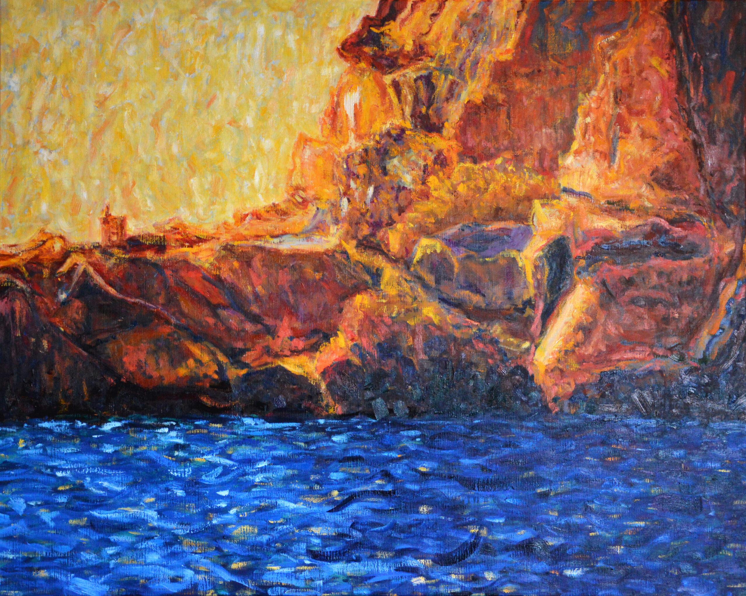 Sunset on Isla Es Vedra
