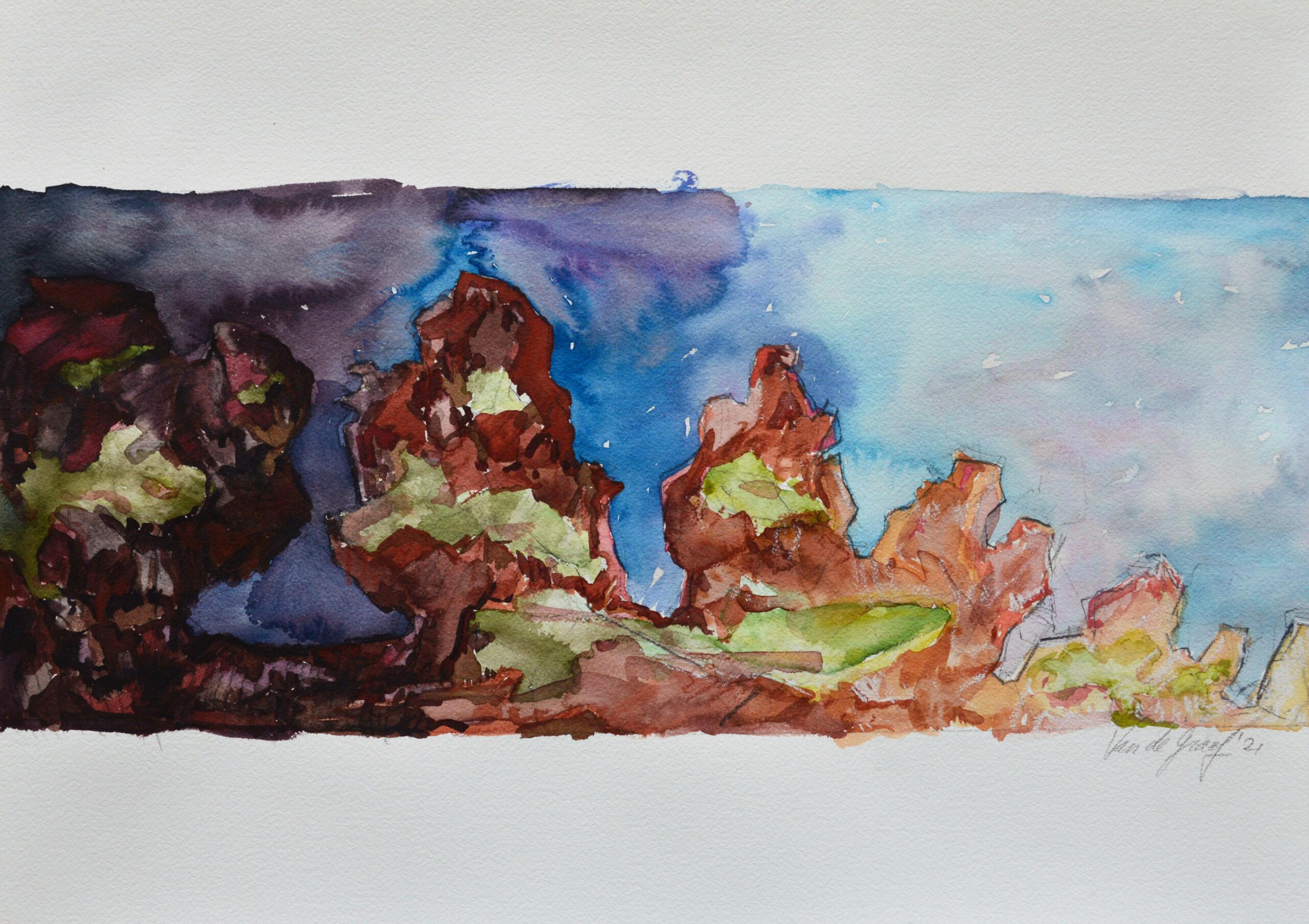 Watercolor Drawing Study_17-18-19