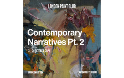 ONLINE EXHIBITION, 'Contemporary Narratives' by London Paint Club